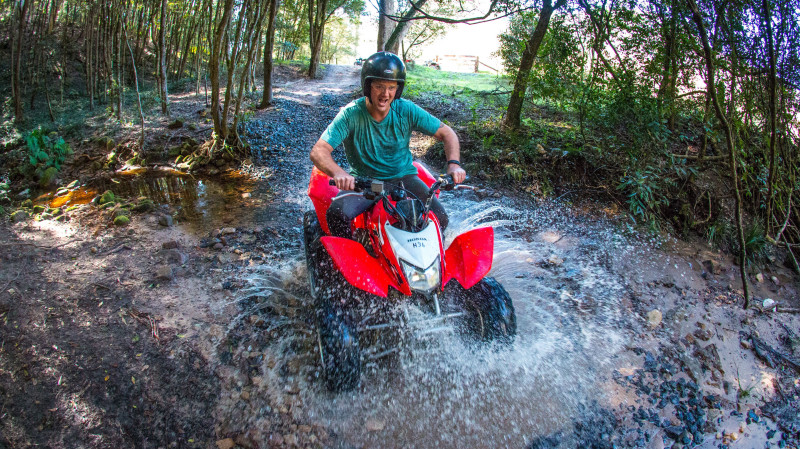RedBalloon Quad Biking and Horse Riding Combo Experience