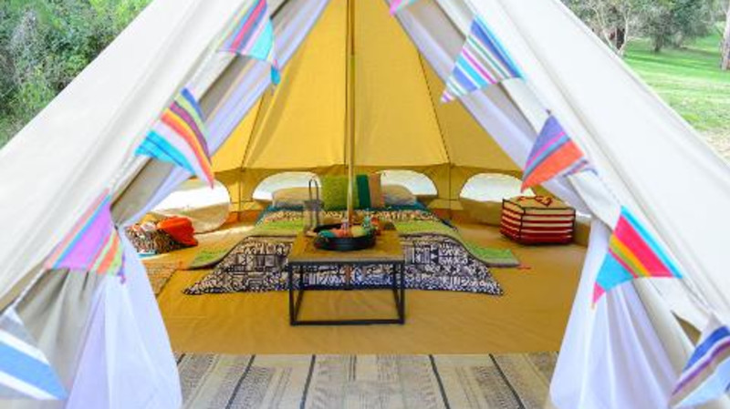RedBalloon Overnight Glamping Getaway - For 2