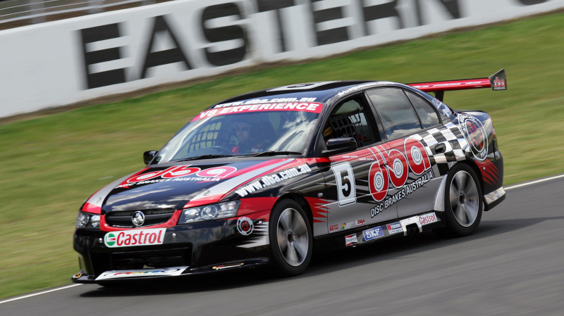 RedBalloon V8 Race Car Driving 4 Laps Sydney Motorsport Park