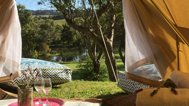 RedBalloon Two Night Glamping Getaway - For 2