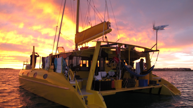 RedBalloon Sunset Sparkling Wine Cruise by Catamaran - For 2