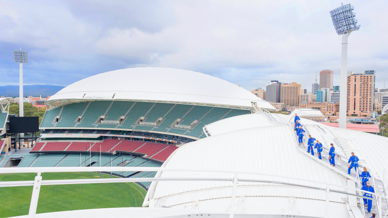 RedBalloon Adelaide Oval Roof Climb - Daytime