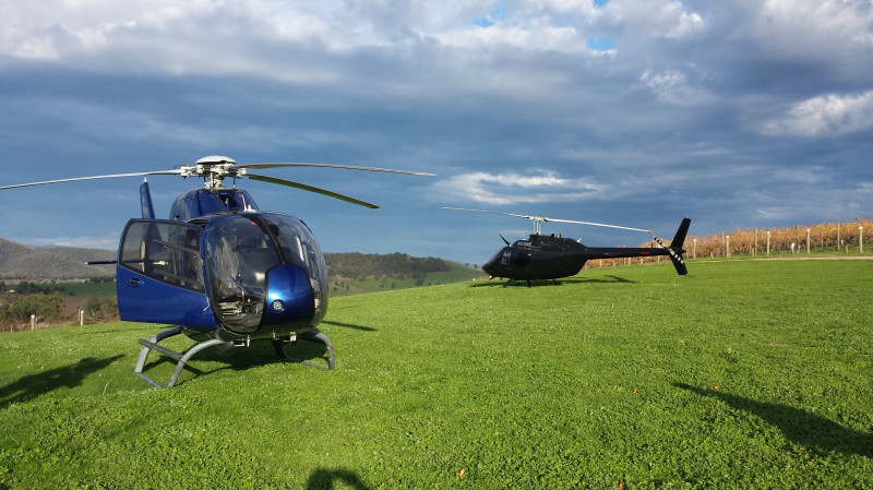 RedBalloon Helicopter Flight to Yarra Valley with Winery Lunch - For 2