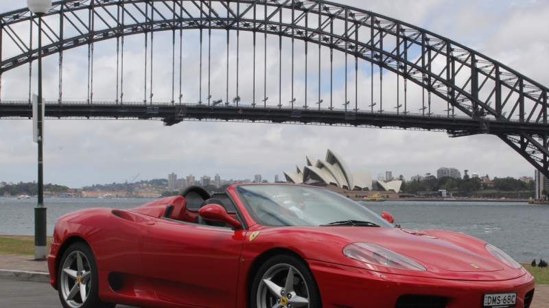 RedBalloon Ferrari Self-Drive Tour of Sydney - 60 Minutes - For 2
