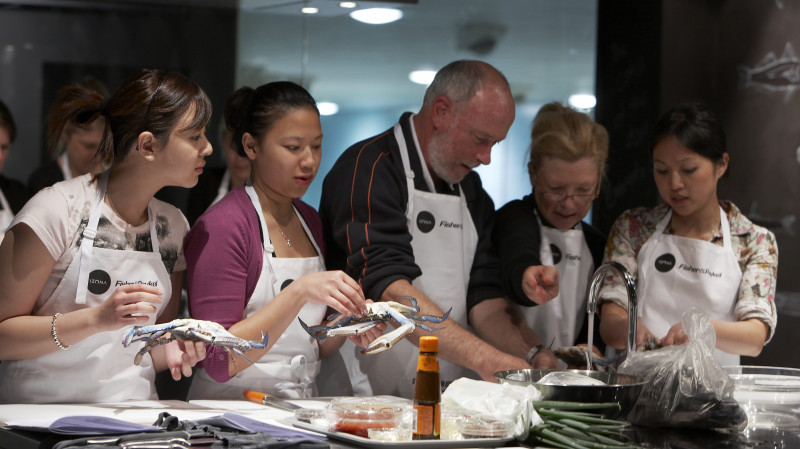 RedBalloon Sydney Fish Market Seafood BBQ Cooking Class