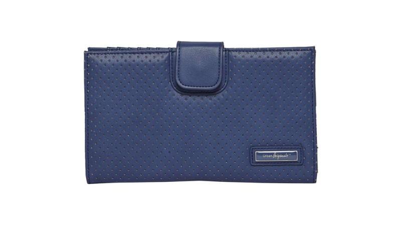 RedBalloon Matinee Perforated Wallet - Sea Blue
