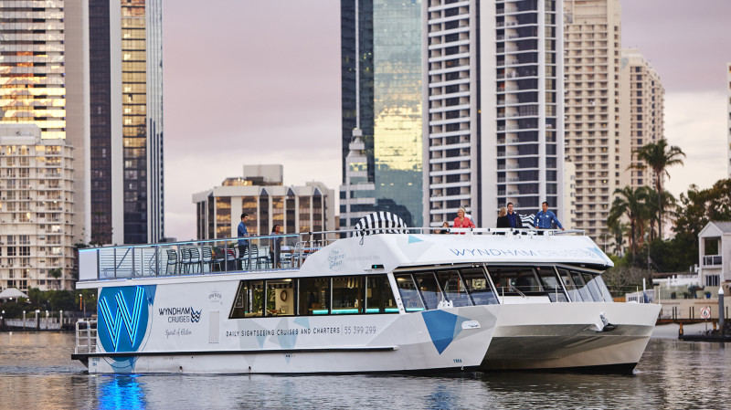 RedBalloon Sightseeing Cruise with 3 Course Dinner - Gold Coast
