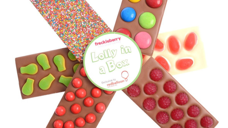RedBalloon Freckleberry Belgium Chocolate & Lollies Gift Pack