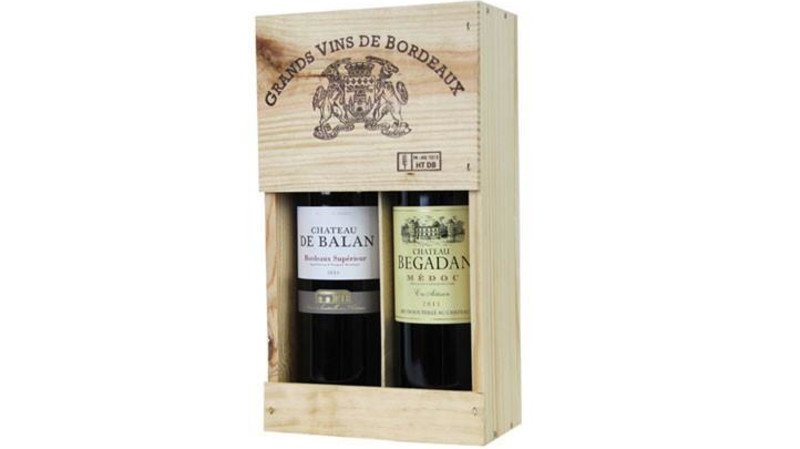 RedBalloon Grands Vins Bordeaux Twin Gift Pack