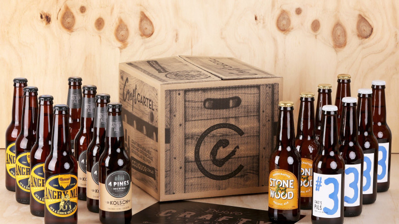 RedBalloon Australian Craft Beer Box