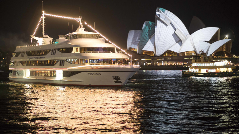 RedBalloon Penfolds Degustation Dinner Cruise on Sydney Harbour - For 2