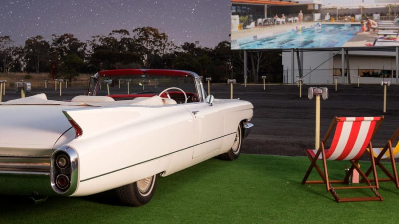 RedBalloon Retro Drive-In Movie, Overnight Stay and Breakfast - For 2