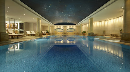 The Langham Hotel Sydney indoor swimming pool