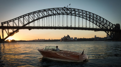 Vivid Sydney Private Harbour Cruise - 90 Minutes - For 4