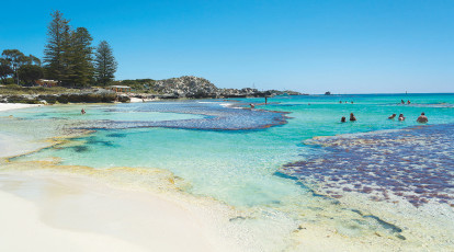 Rottnest Island perth western australia view of beach