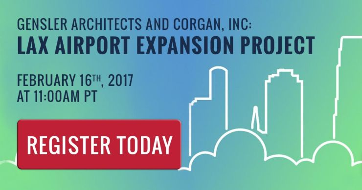 Gensler Architects and Corgan, Inc.: LAX Airport expansion project