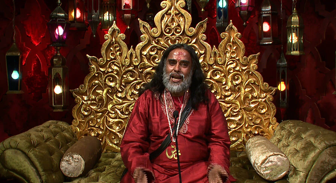 swami Omjii breaks down at bigg boss 10