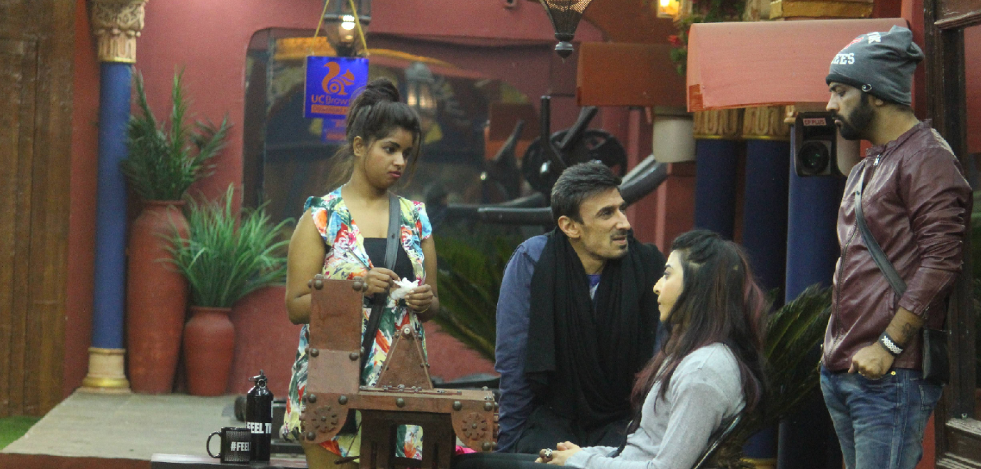 Bani Rahul doing Task for not speaking hindi