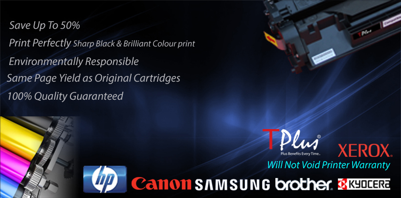 Tplus Toner Cartridges