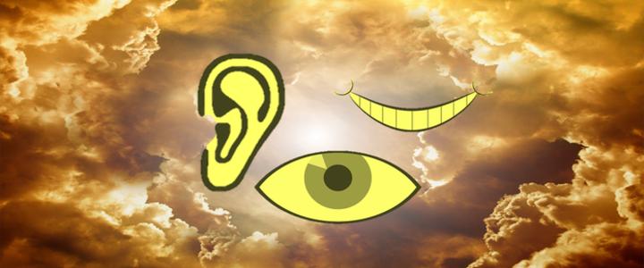 Ein Gott der sieht und hört Blog-Post Bild