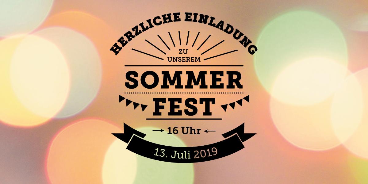 Sommerfest Event Flyer