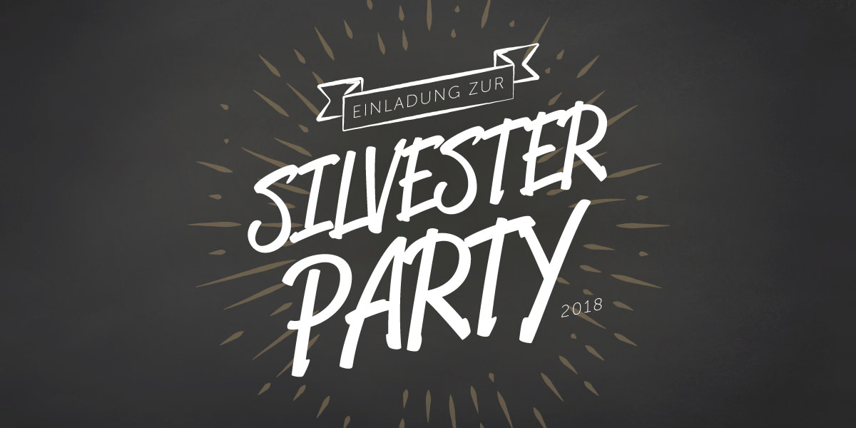Silvester Party 2018 Event Flyer