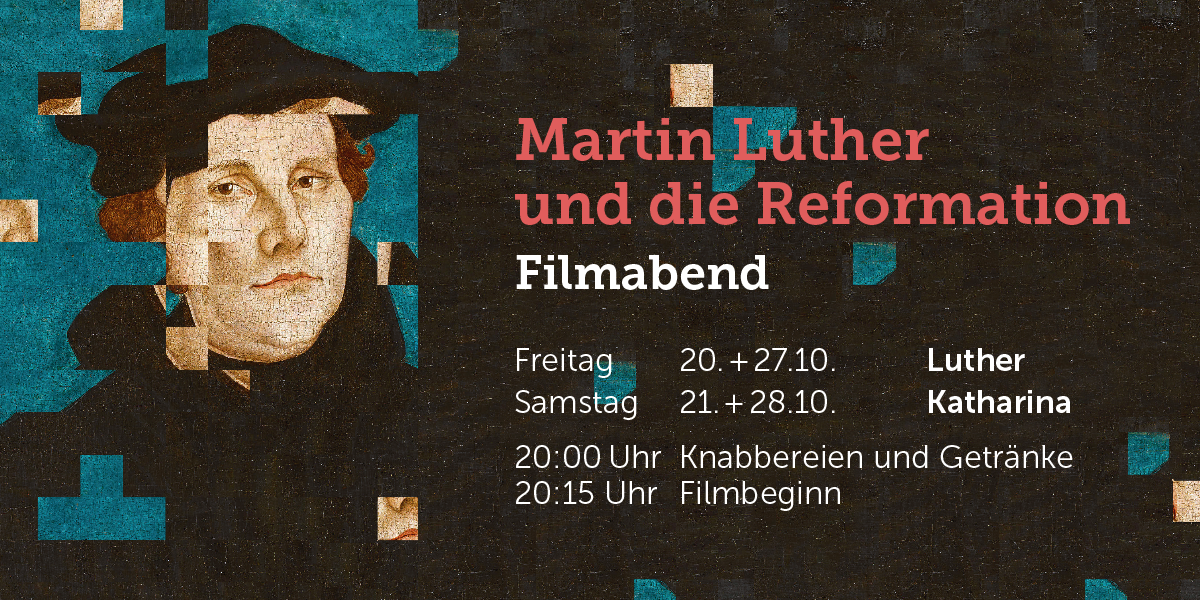 Luther Filmabend Event Flyer