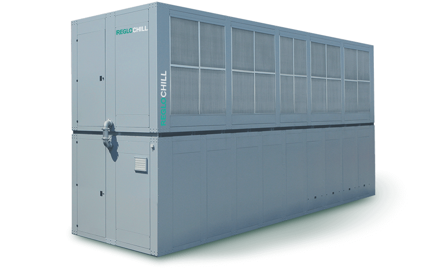 IESG - Energy saving integrated cooling system without glycol from 61,5 kW to 832 kW - Reglochill