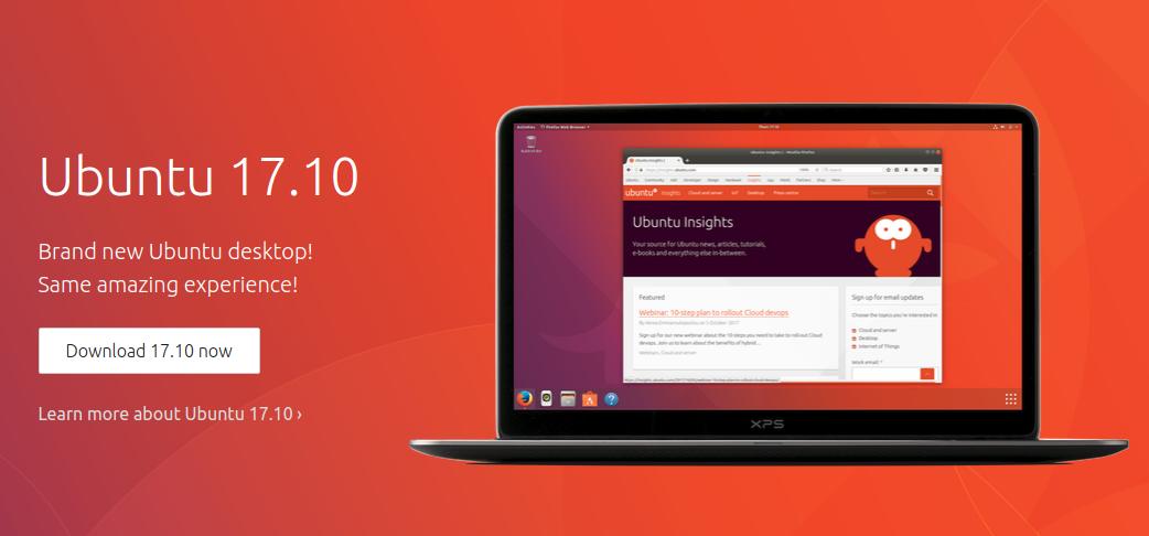 Ubuntu 17.10 is coming