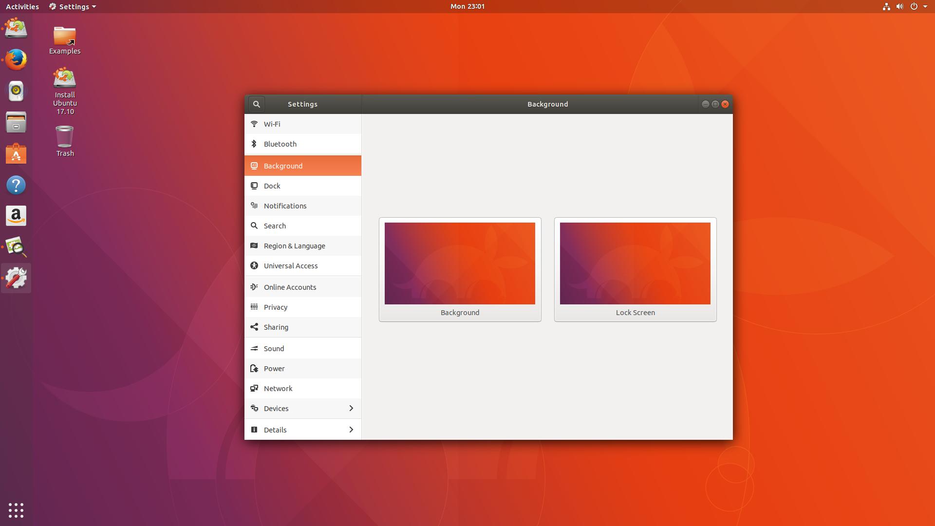 Ubuntu17.10桌面