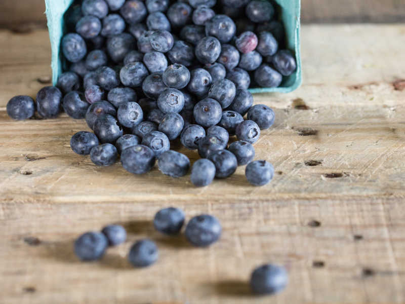 In Season Now: Blueberries
