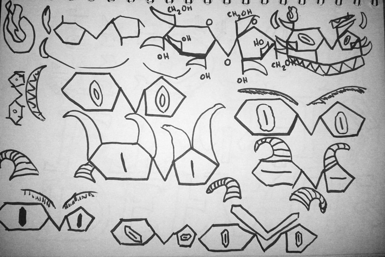 Sugar Demons Sketches