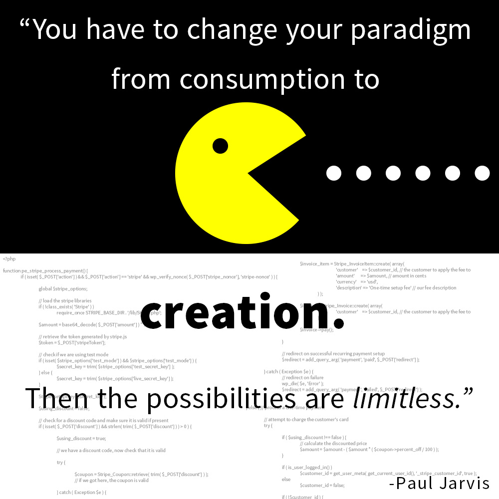 Paul Jarvis Quote