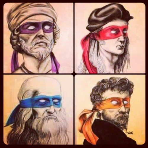 Renaissance ninja painters