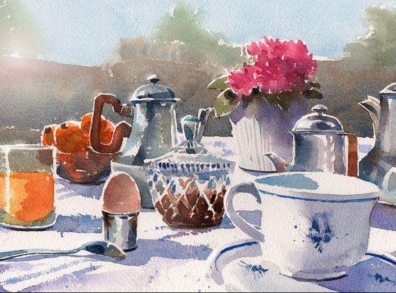 Café no Jardim