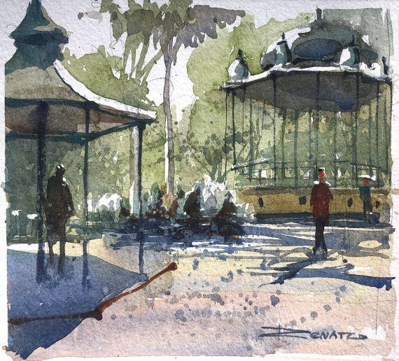 Sketch Parque da Luz