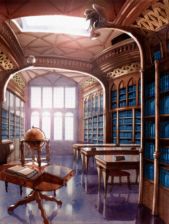 The Library - Abril