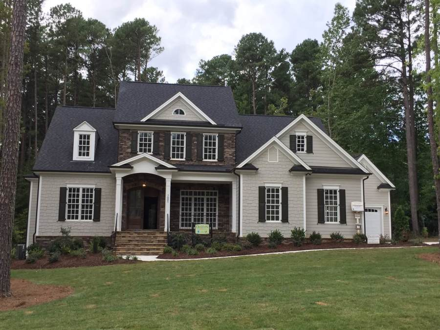 Raleigh custom builders homes by dickerson for Ample storage raleigh