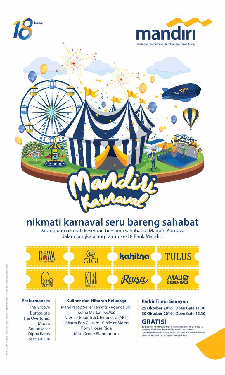 Bank Mandiri Karnaval 2016