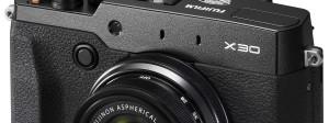 Fujifilm Debuts X30 Advanced Compact Ahead of Photokina