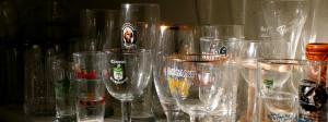 Beer glassware hero