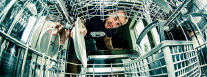 Dishwasher lies hero