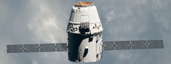 Spacex dragon capsule hero