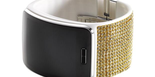 Samsung Adds Swarovski Band to Otherwise Tasteful Gear S