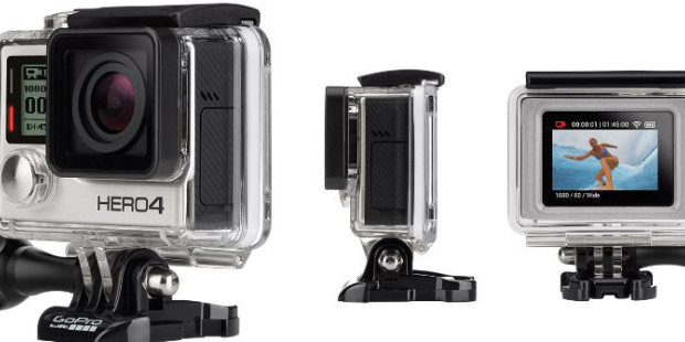 GoPro Drops Flagship Hero4 Black and Silver Editions, Low-Cost Hero