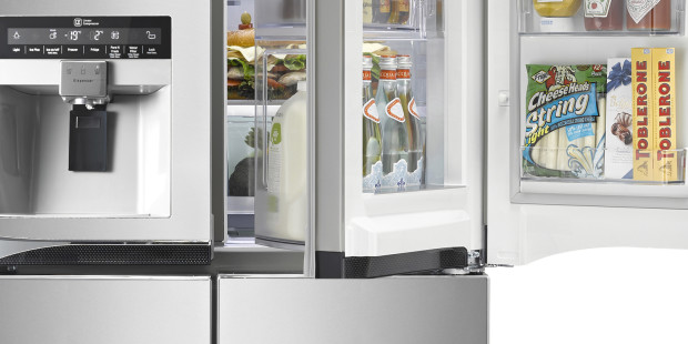 At IFA, LG's Newest Refrigerators Open Doors, Tear Down Walls