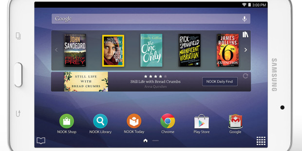 Samsung Revives Barnes and Noble's Nook with new Tab