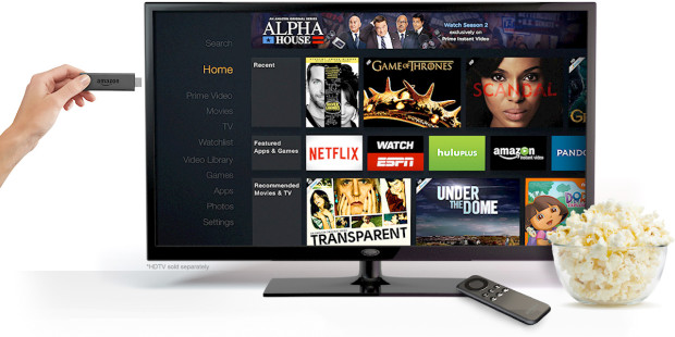 Amazon's Fire TV Stick Aims to Burn up Chromecast, Roku