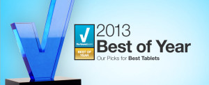 2013 Best of Year Tablet Awards