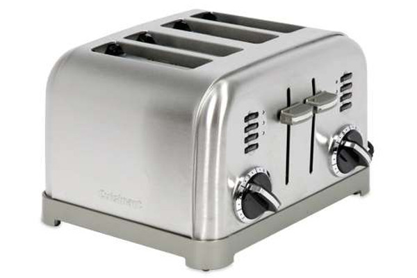 Ge 4 Slice Toaster ~ Cuisinart electronic slice toaster on sale at
